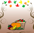 Thanksgiving Fruit Veg Card