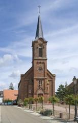 church in Mittelbergheim