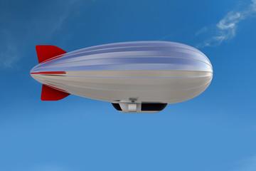Zeppelin als Werbefläche