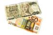 Euro and Drachmen