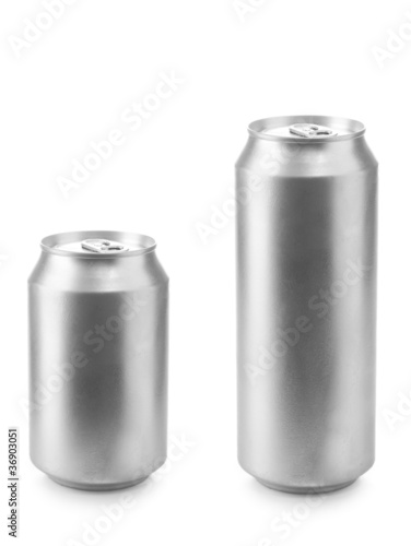 beer can 330 and 500 ml