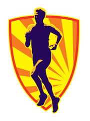 Marathon runner jogger fitness running