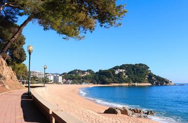 Fenals beach (Costa Brava, Spain)
