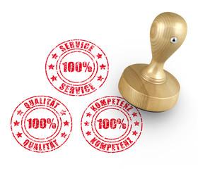 Stempel - Service - Qualität - Kompetenz