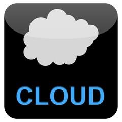 Web Button - Cloud Computing