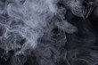 Abstract Smoke Background