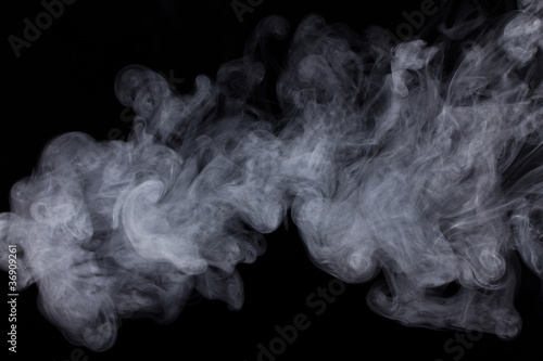 Deurstickers Rook Abstract Smoke Background