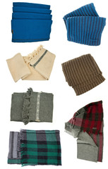 woman winter scarfs
