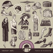 ladies fashion and accesssories of the 20s