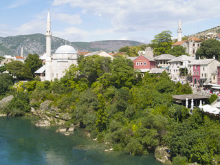 mosque by the river,