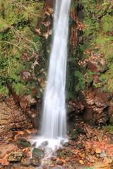 Cascada, Movimiento del agua,  Ruta del Alba o Foces del Llaímo.