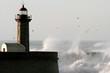 Fototapeten,stürmisch,sturm,welle,leuchtturm