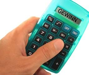 Taschenrechner Gewinn