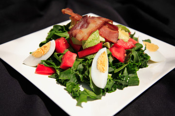 Summer bacon salad