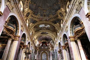 Vienna - Jesuits Church interior
