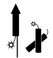 Feuerwerkskörper Clipart