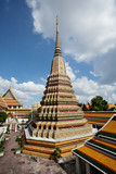 Authentic Thai Architecture in Wat Pho, Bangkok poster