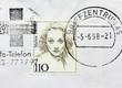 Marlene Dietrich Stamp