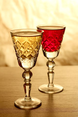Luxury old glass