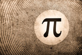 Fototapety mathematics pi
