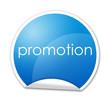 Pegatina promotion con reborde