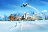 Fototapety Travel - winter season