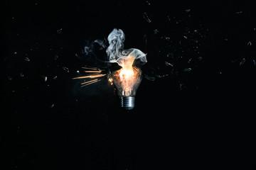 Shoot the bulb