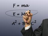 Physics equation poster