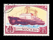 "USSR, shows Nuclear ice drift ""Moskva"",  circa 1978"