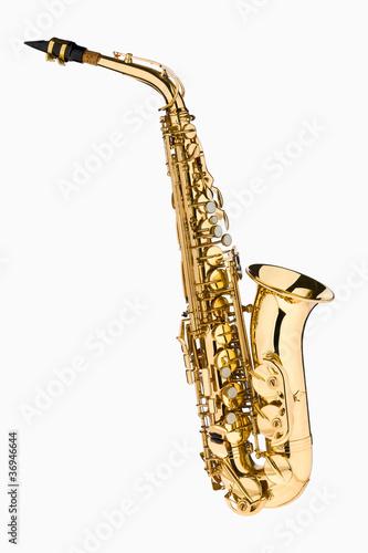 Leinwandbild Motiv Saxophon