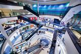 Modern shopping mall interior - Fine Art prints