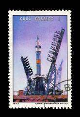 CUBA, shows Conete Portador Soyuz,  circa 1973