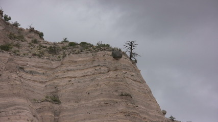 Tent rock formations in New Mexico, USA