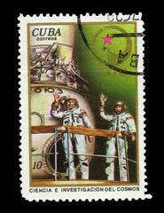CUBA, shows Ciencia E. investigacion Del Cosmos,  circa 1975
