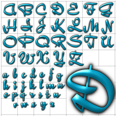 abc alphabet background font quigley design