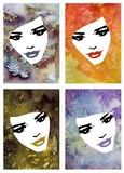 cztery portrety kobiet