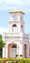 Thai clock tower