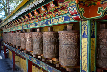 Prayer Wheels - Potala Palace