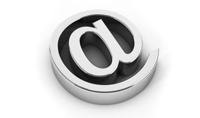 Chrome at symbol