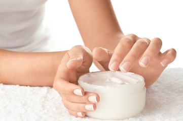 Hand Care isolated