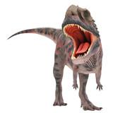 Fototapety red majungasaurus attack
