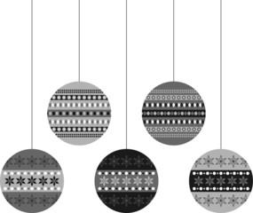 bolas decorativas de navidad_grises