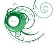 grün verziert