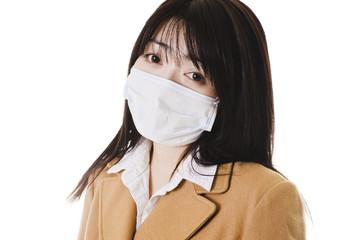 Sick chinese school girl.
