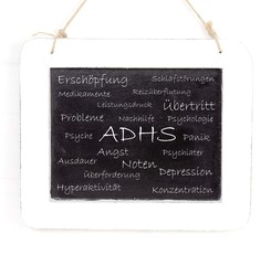 Schaubild ADHS Aufmerksamkeits-Defizit Syndrom
