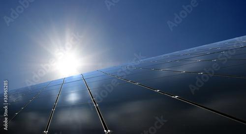 Leinwandbild Motiv fotovoltaik