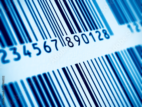 Macro view of barcode - 36966032