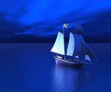 Fototapeta statek - statek - Obrazy 3D