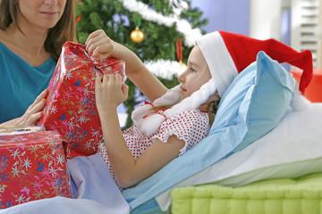 Cadeaux de Noël - Enfant malade
