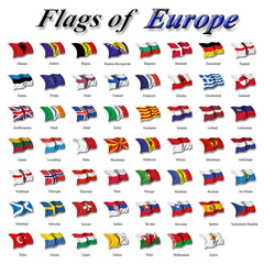 Flags of Europe
